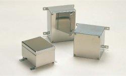 画像1: KLB型開閉式防水・防塵ステンレスボックス