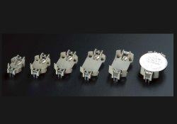 画像1: HU型コイン電池ホルダー(LR44、CR1220-1632-2430-2450)